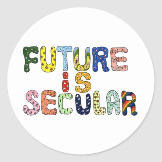 FUTURE IS SECULAR STICKERS