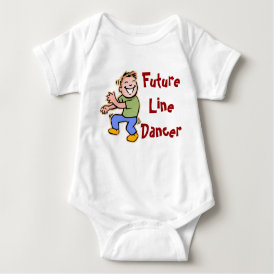Future Line Dancer! - Baby Boy Baby Bodysuit