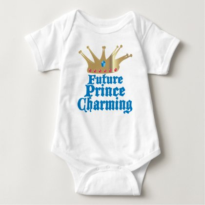 Future Prince Charming Baby Body suit
