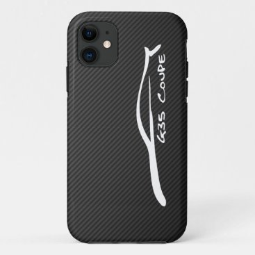 G35 Coupe White Silhouette Logo iPhone 11 Case