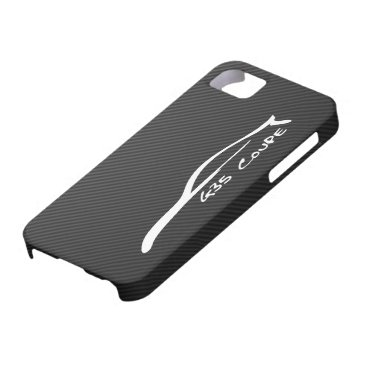G35 Coupe White Silhouette Logo iPhone SE/5/5s Case