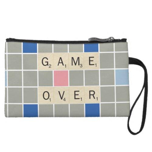 Game Over Wristlet Wallet