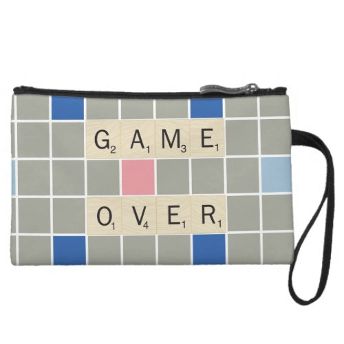 Game Over Wristlet Wallet