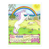 Garden of God Inspirational Postcard