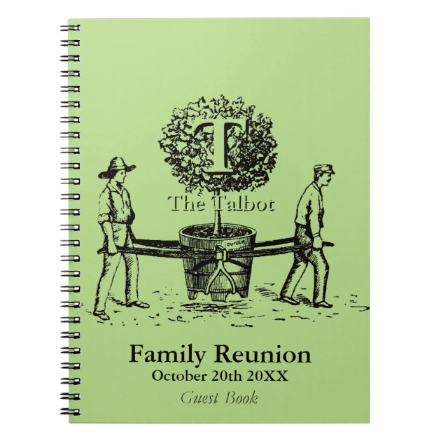 Family Reunion Guest Book Sign