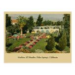 Gardens El Mirador Palm Springs CA Postcard