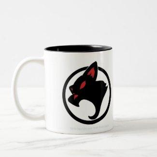 Gato Loco 2-tone Mug