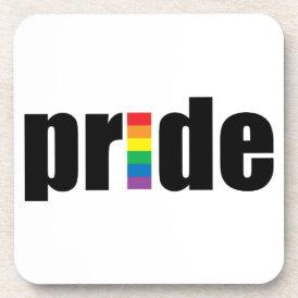 Gay Pride Cork Coaster