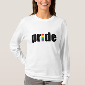 Gay Pride Ladies Long Sleeve T-Shirt