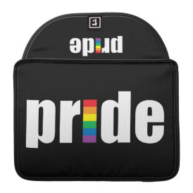 Gay Pride Macbook Pro Flap Sleeve