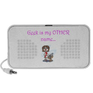 Geek is My Other Name Mp3 Speaker