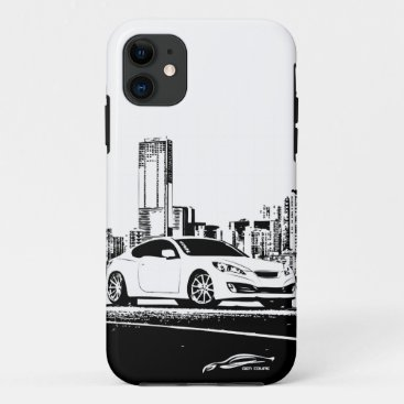 Gen Coupe with City Backdrop iPhone 11 Case
