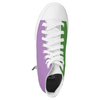 Genderqueer Pride LGBT Printed Shoes