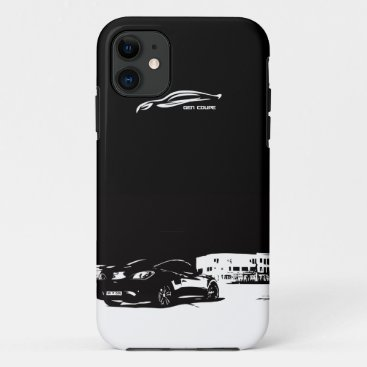 Genesis Coupe rear stance iPhone 11 Case