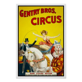 Gentry Bros. Circus, 1920