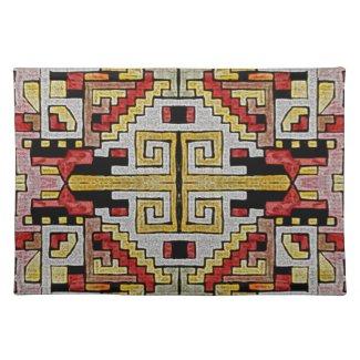 Geomethric Tribal/Ethnic Pattern Place Mat