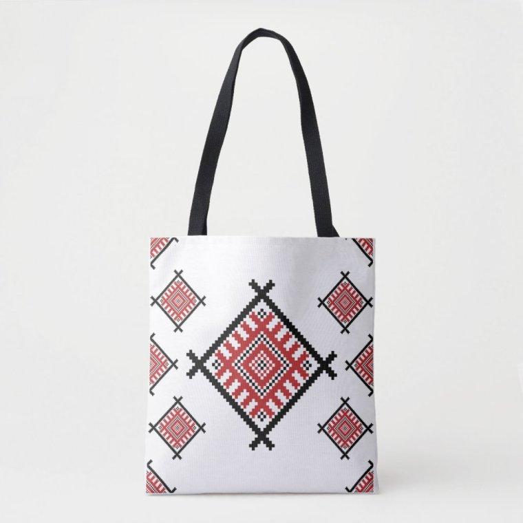 Geometric Traditional Pattern Tote Bag