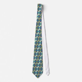 Geometrix Pathways Men's Ugly Tie tie