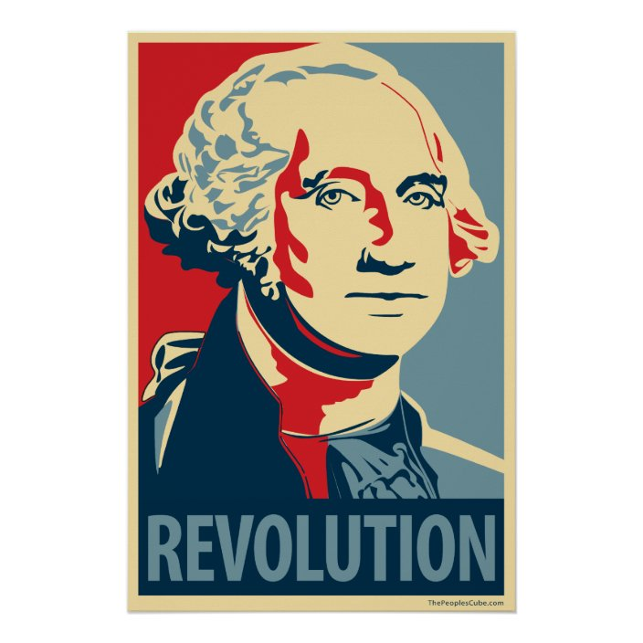 george washington revolution ohp poster zazzle com