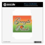 Georgia Peach - Cursive skins