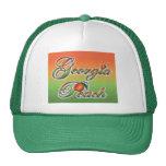 Georgia Peach - Cursive hats