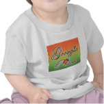 Georgia Peach - Cursive t-shirts