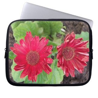 Gerbera Daisies Laptop Sleeve electronicsbag