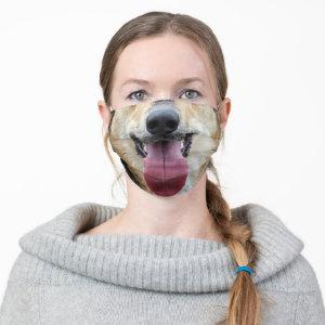 German Shepherd Dog Nose Tongue Cloth Face Mask