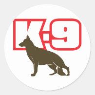 German Shepherd K-9 Sticker
