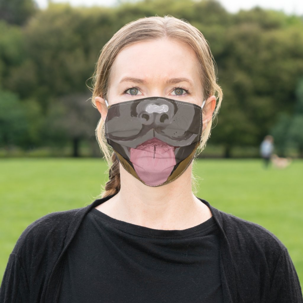 German Shepherd nose and Mouth Cloth Face Mask