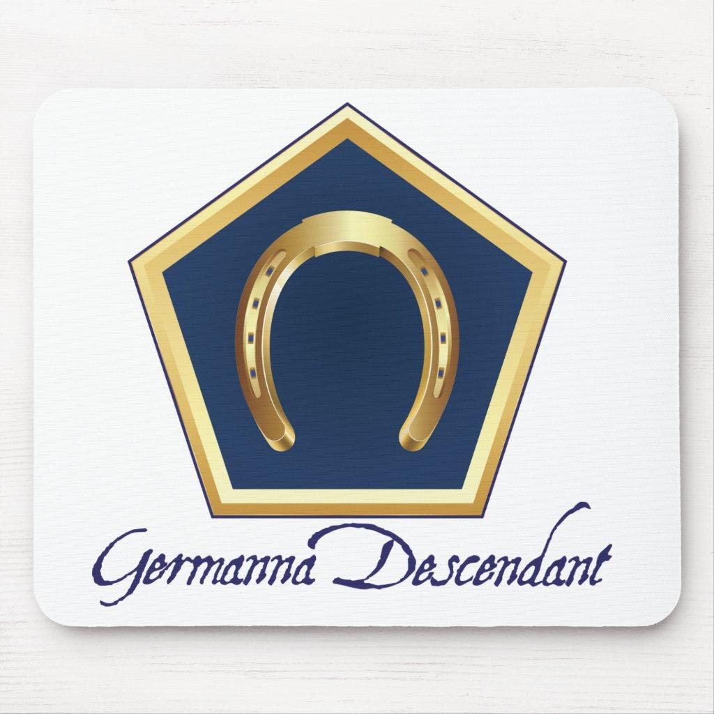 Germanna Descendant Mousepad