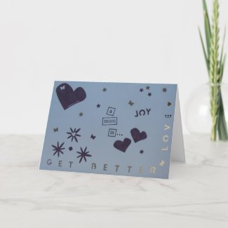 Get Better - Mom - Scrapbook 1 - Seasons Card card