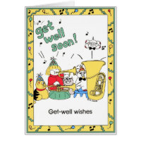 GET WELL - FROM GROUP Card