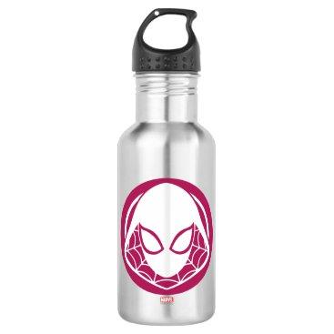 Ghost-Spider Icon Water Bottle