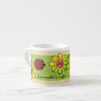 Giant Ladybug Espresso Cup