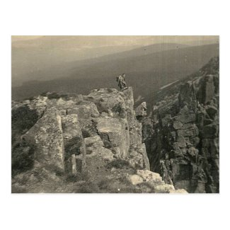 Giant Mountains - Vintage Hiking 1937 Postcard