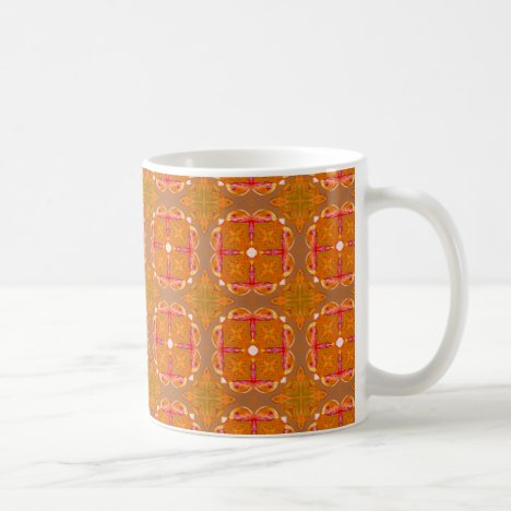 Gingerbread Houses, Cookies, Apple Cider Abstract Coffee Mug