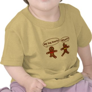 Gingerbread Humor shirt