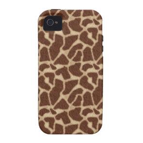 Giraffe Skin Spots 2 Case-Mate iPhone 4 Case