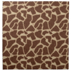 Giraffe Skin Spots 2 Cloth Napkins