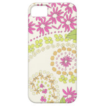 Girly floral swirl pattern iphone5 covers iPhone 5 cases