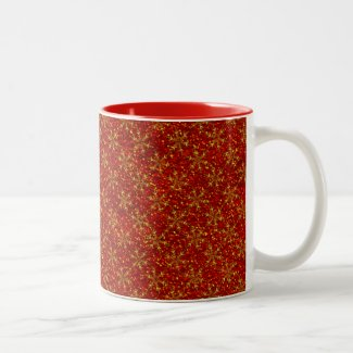 Glittered Christmas Coffee Mug