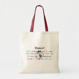Global Dance - The Global Language (Customizable) Tote Bag