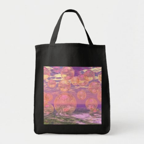 Glorious Skies – Pink and Yellow Dream Tote Bag
