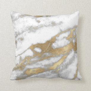 silver white gold decorative throw