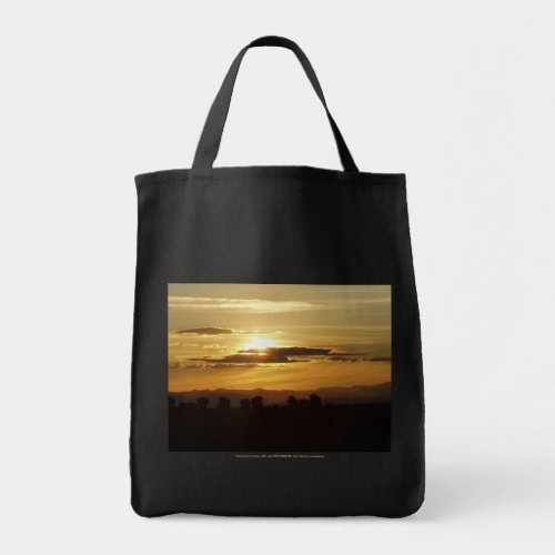 golden sunset bag