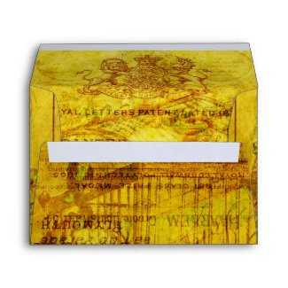 Golden Tweets envelope