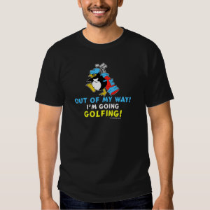 Golfing Penguin Shirt