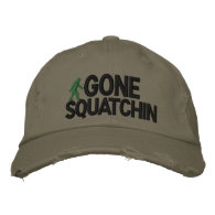 Gone Squatchin Deluxe version Baseball Cap