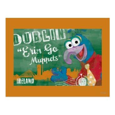 Gonzo - Dublin, Ireland Poster Postcard